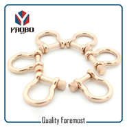 Custom High Quality Rose Gold Color Shackles
