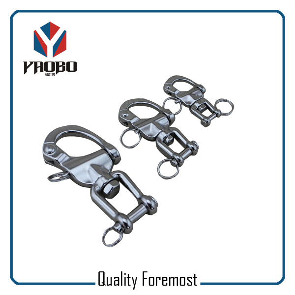 Custom High Quality Swivel Snap Shackle With Jaw