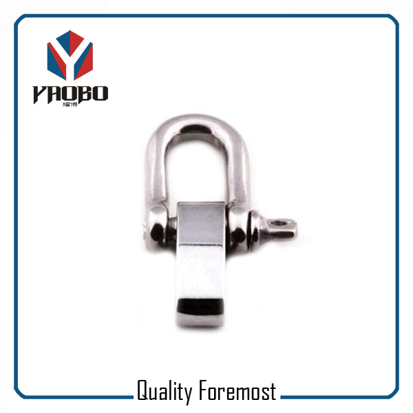Custom High Quality Stainless Steel D Shackle With Adustable