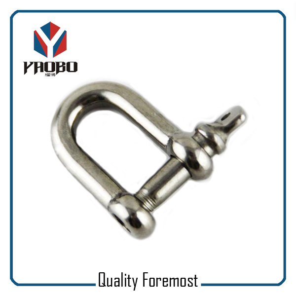 Custom High Quality D Shackles With Screw Pin