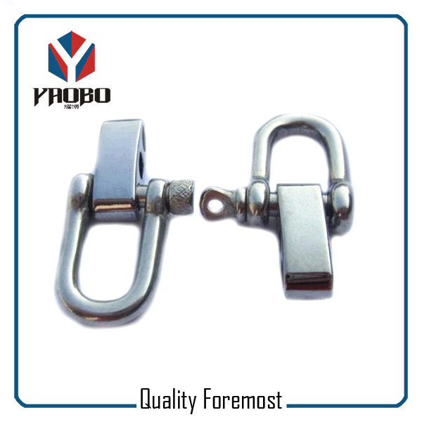 Custom High Quality D Shackles With 4 Holes Adjuster