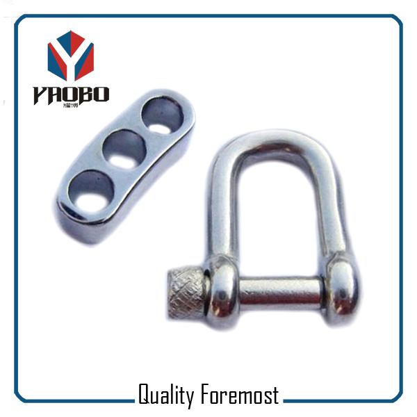 High Quality Stainless Shackles Supplier 5mm D Shackles