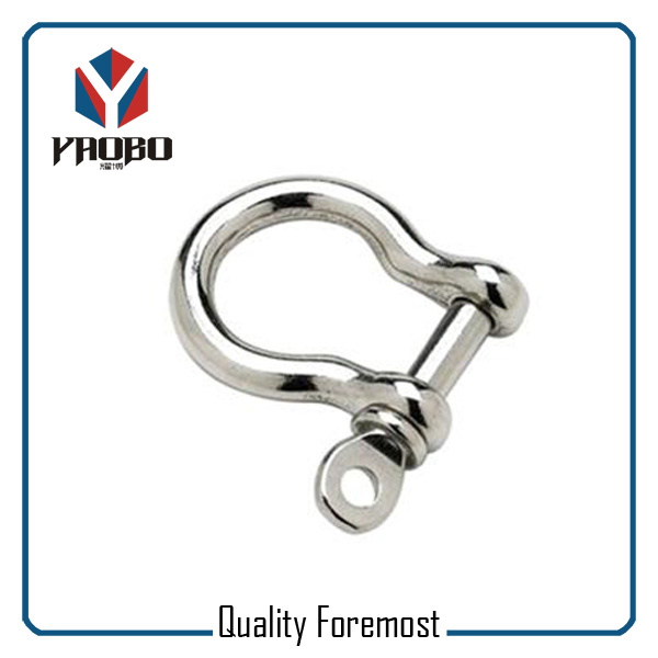 High Quality Stainless Steel Bow Shackles Supplier
