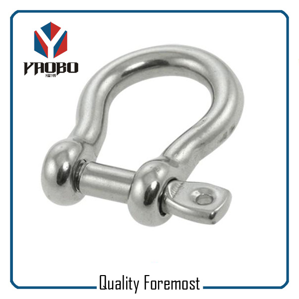 High Quality Stainless Steel 6mm Bow Shackles