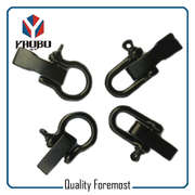 High Quality Stainless Steel Black Color Bow Shackles