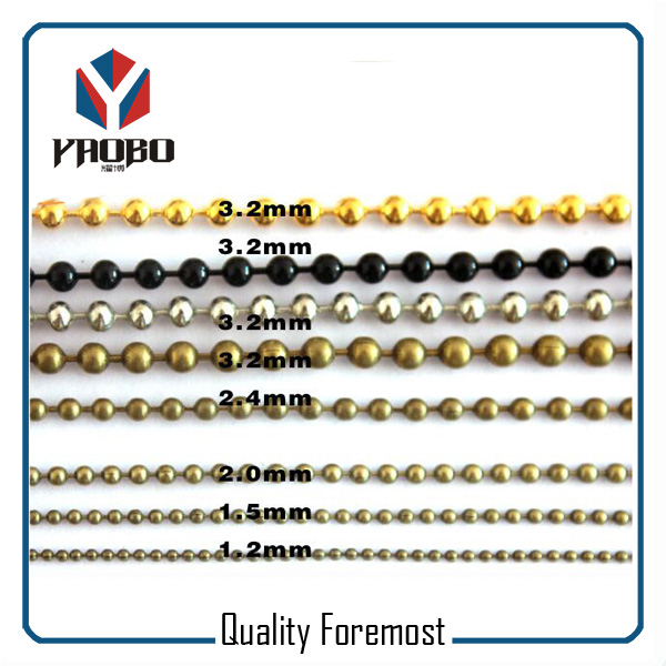 High Quality Ball Chain Different Size Ball Chain
