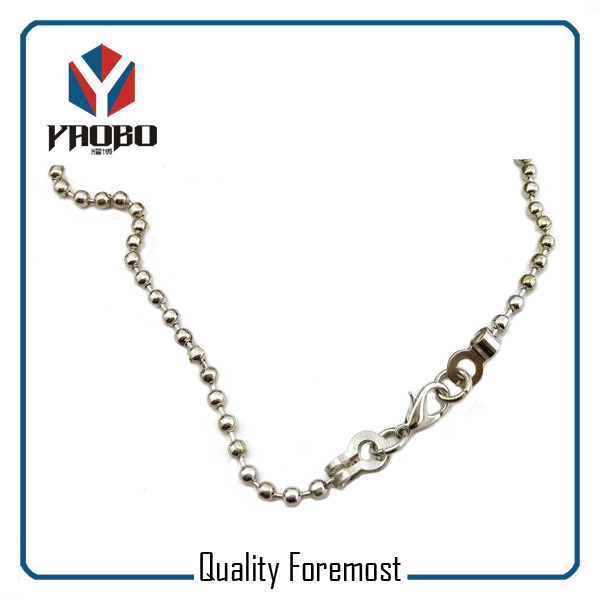 Silver Ball Chain For Bracelet