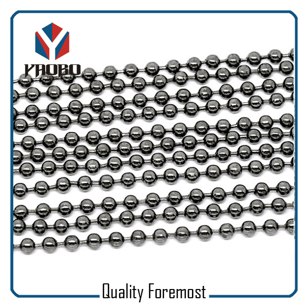 Gunmetal Ball Chain Factory
