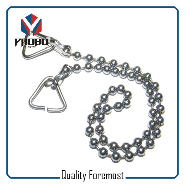 Stainless Steel Beaded Chain