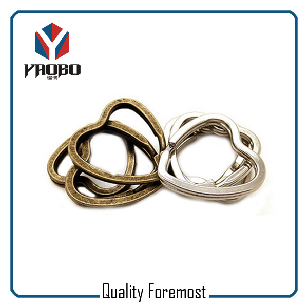 Manufacturer Heart Split Ring