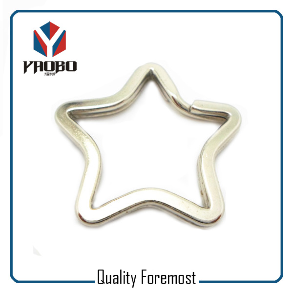 Iron Star Split Ring