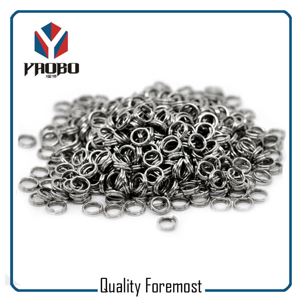 Stainless Steel Heavy Duty Split Rings