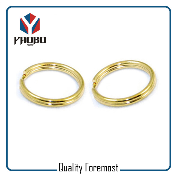 Gold 25mm Split Rings