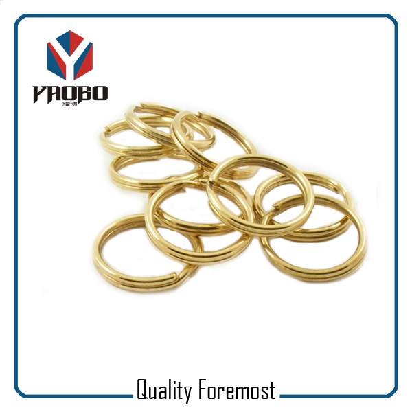 Gold Split Rings Bulk