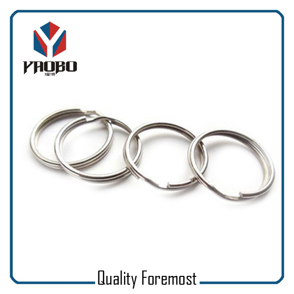 Stainless Steel 25mm Split Key Ring