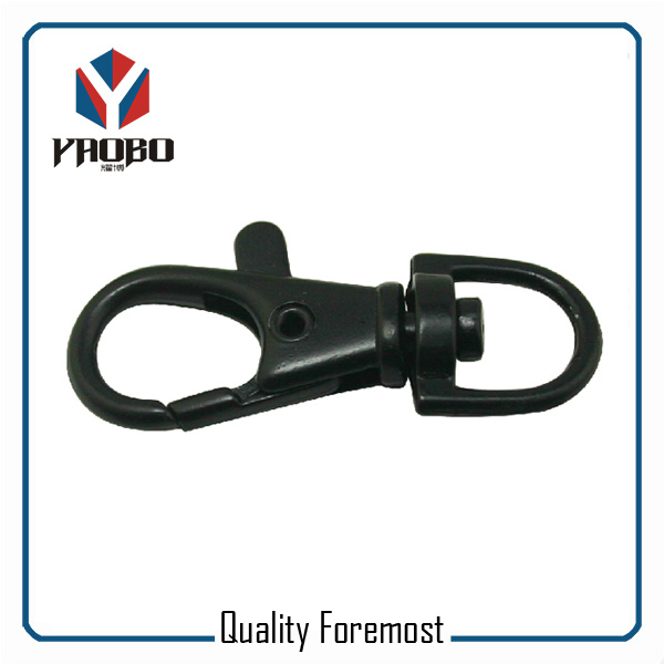 Black 10mm Snap Hook