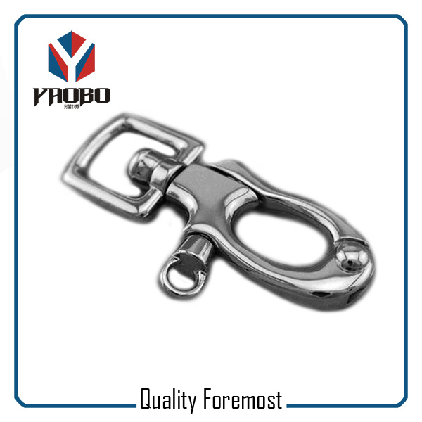 Trigger Clasp Swivel Ring Hook