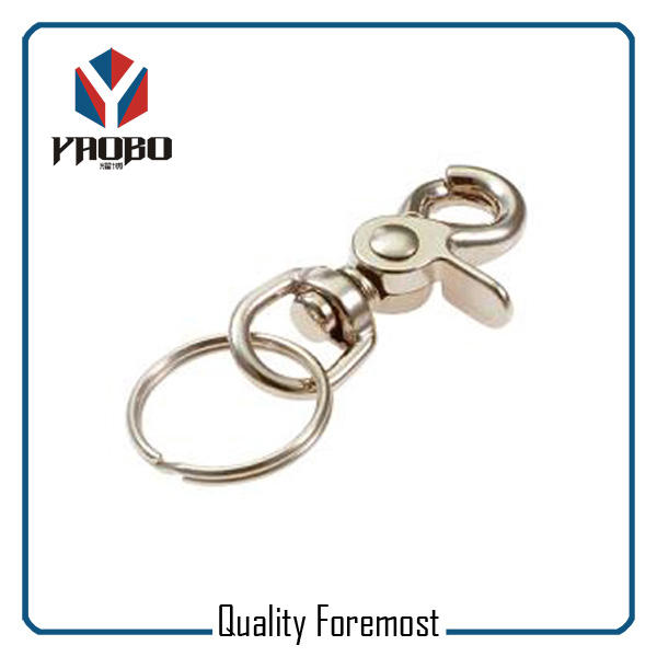 Swivel Snap Hook With Key Ring