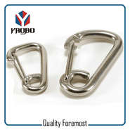 Wire Gate Stainless Steel Carabiner