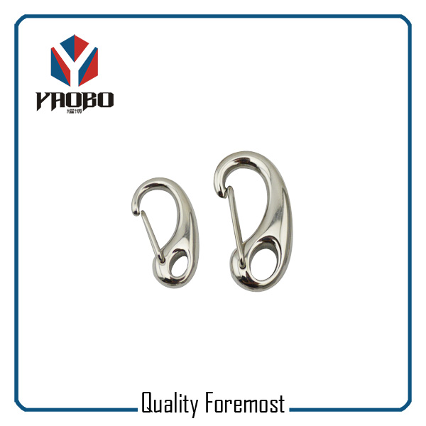 Stainless Steel Egg Shape 30mm Spring Hook