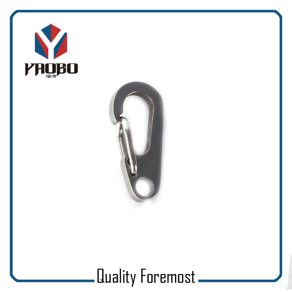 Stainless Steel Oval Egg Snap Hook