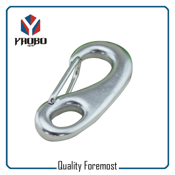 Stainless Steel Egg Shape Spring Carbiner Hook