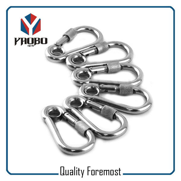 Wholesales Stainless Steel Carabiner With Screw