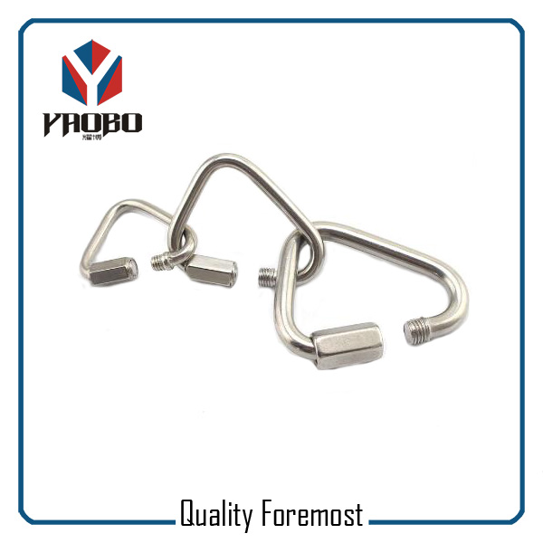Triangle Shape Stainless Steel Carabiner