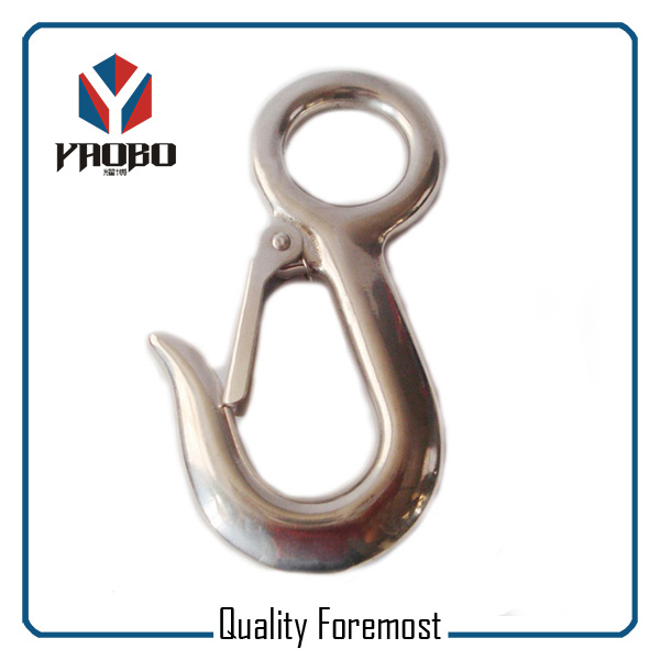 AISI316 Stainless Steel Fixed Snap Hook