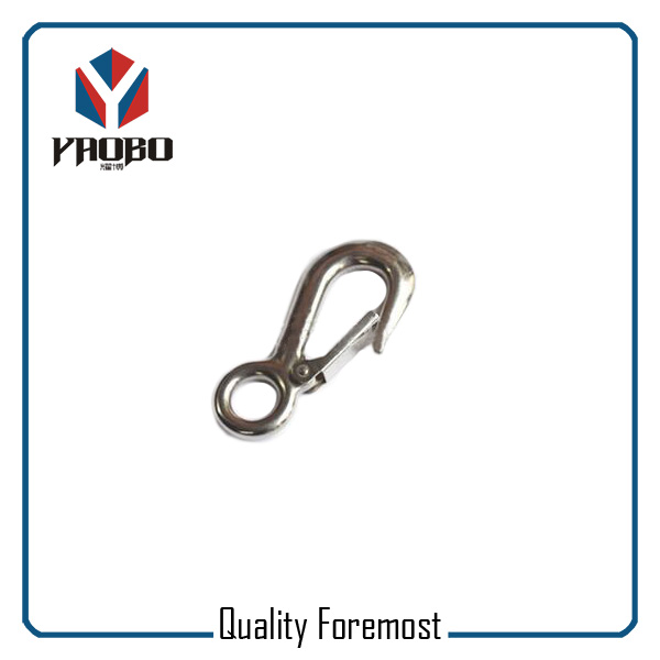 Corrosion Resistance Fixed Eye Boat Snap Hook