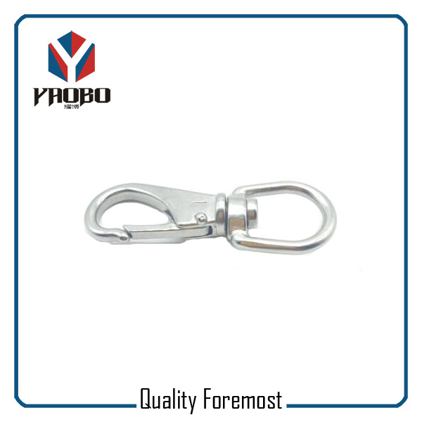 Stainless Steel Snap Hook For Belt