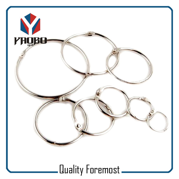 Silver Color Binder Ring
