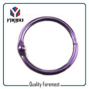 25mm Purple Binder Ring