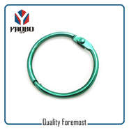 Green Color Binder Ring