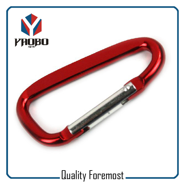 Red Color Carabiner Hooks