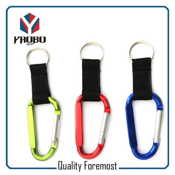 Aluminum Carabiner Hook For Lanyard
