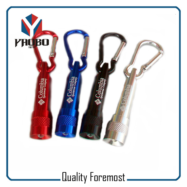 Aluminum Carabiner LED Ligh In Hook