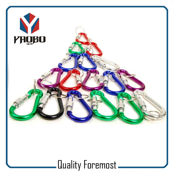 Aluminum Carabiner With Lock