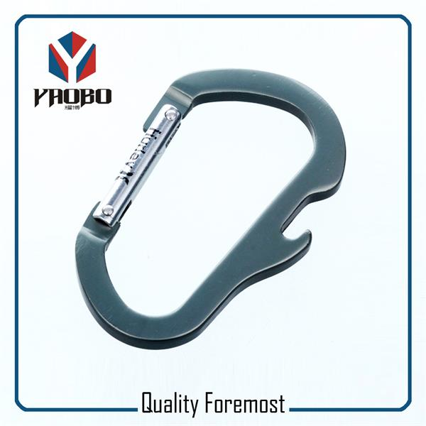 Carabiner Hook With Bottle Opener