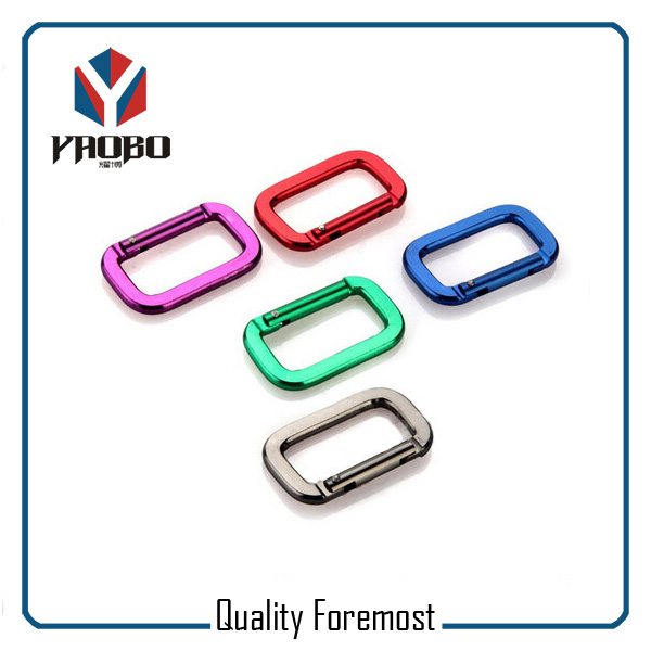 Rectangle Shape Carabiner
