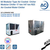 65kw Modular Type Air Cooled Water Chiller/Modular chiller