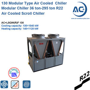 R22 Air Cooled Scroll Modualr Chiller/ 130 Modular chiller modular chiller