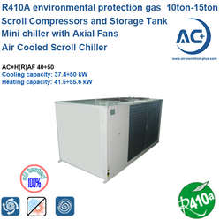 air to water scroll chiller