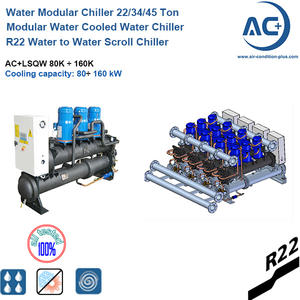 R22 Modular water cooled water chiller / modular water chiller