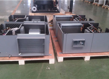 India Hotel Project used packaged water to air chiller