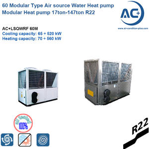 60 Modular Type Air Source Heat Pump Modular Heat Pump