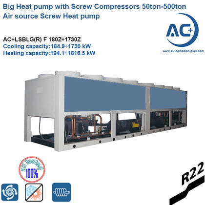 air source screw heat pump
