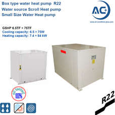 box type water heat pump small water to water heat pump