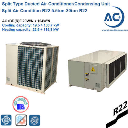 split type duct air condition