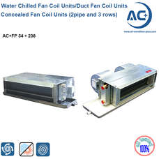 Concealed Fan Coil Units water chilled fan coil units